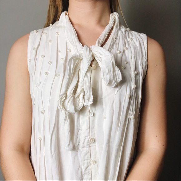 Anthropologie Tops - 🎀 Leonie Pearl Blouse 🎀 Anthropologie 🎀 XS